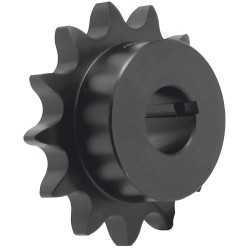 Bearings Limited - 100BS10H X 1 - Sprocket, 4.606in OD, 1.25in PD, 1in BD, #10