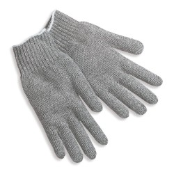 Memphis Glove - 9507SM - 7gauge Gray Cotton/polyester Heavy Weight String