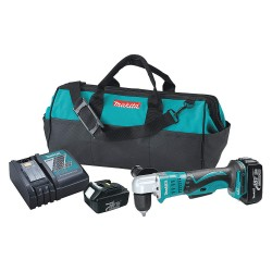 Makita - XAD02 - 3/8 LXT Cordless Right Angle Drill Kit, 18.0 Voltage, Battery Included