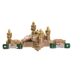 Watts Water Technologies - 009-QT-SH - Reduced Pressure Zone Assembly, Bronze, Watts 009 Series, FNPT Connection