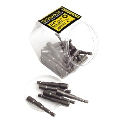 Eazy Power - 00328 - 2-1/2 Nutsetter 1/4 Hex Size, 1/4 Hex Shank Size, Magnetic