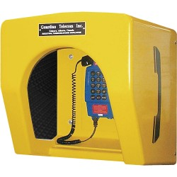 Guardian - P9039 - 25 dB Glass Reinforced Plastic Acoustic Booth, Yellow