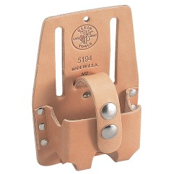 "Klein Tools - 5194 - Tape Measure Holder, Natural Leather, 6"" Height, 4"" Width"