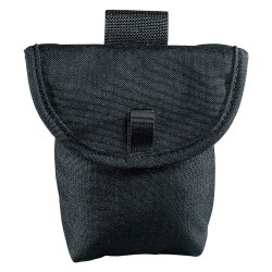 Klein Tools - 5714 - Black Closeable Pouch, Nylon, Fits Belts Up To (In.): 2-1/4