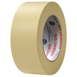 Intertape Polymer - PG28A.6 - Masking Tape, 120 yd. x 1, Natural, 7.10 mil, Package Quantity 36
