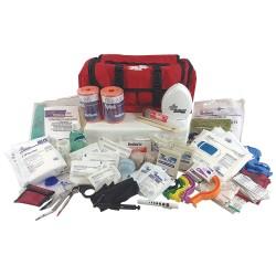 MedSource - MS-75163 - First Responder Kit, Red, 29 Components