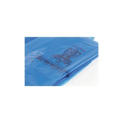 Armor Products - PVCIBAG4MB1215ZIP - 15L x 12W VCI Reclosable Poly Bag with Zip Seal Closure, Blue; 4 mil Thickness