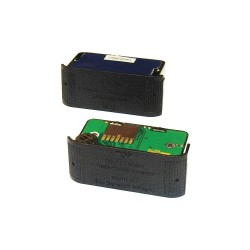 GFG Instrumentation - 1450-212 - 3V NiMH Rechargeable Flashlight Battery Pack, Black, 1 EA