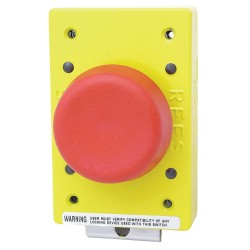 Electro-Matic - 02182-002 - Emergency Stop Push Button, Type of Operator: 57mm Mushroom Plunger, Size: 57mm, Action: Momentary P