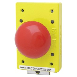 Electro-Matic - 03476-002 - Emergency Stop Push Button, Type of Operator: 57mm Mushroom Plunger, Size: 57mm, Action: Momentary P