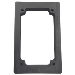 Electro-Matic - 01004-045 - Switch Gasket, Black, Buna-N Rubber, Size: 110mm