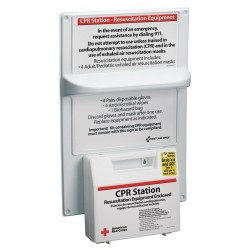 American Red Cross - 9145-RC-GR - Bi-Lingual CPR Kit, Medium, Box