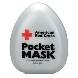 American Red Cross - 363705-GR - Pocket CPR Mask, Universal, Clamshell