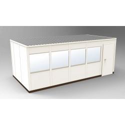 PortaFab - OS1020 - 4-Wall Office, 10x20 Steel, Champagne
