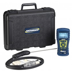 Bacharach - 0024-8523 - Bacharach Fyrite Intech Combustion Analyzer; O2/CO, carrying case