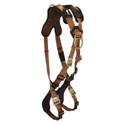 Falltech - G70672D - ComforTech Full Body Harness with 425 lb. Weight Capacity, Brown, Universal