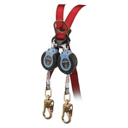Falltech - G82706TB1 - 6 ft. Self-Retracting Lifeline with 310 lb. Weight Capacity, Blue