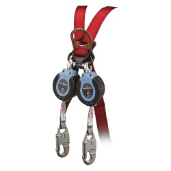 Falltech - G82706TB4 - 6 ft. Self-Retracting Lifeline with 310 lb. Weight Capacity, Blue