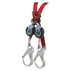 Falltech - G82706TB5 - 6 ft. Self-Retracting Lifeline with 310 lb. Weight Capacity, Blue