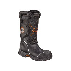 Weinbrenner Shoe - 504-6389 7.5 W - Women's Structural Firefighting Boots, Size 7-1/2, Footwear Width: W, Footwear Closure Type: Pull On