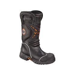 Weinbrenner Shoe - 504-6389 10.5 M - Women's Structural Firefighting Boots, Size 10-1/2, Footwear Width: M, Footwear Closure Type: Pull O