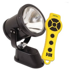 KH Industries - NR4S-1H130-WS - Vehicle Spotlight, Wireless, 130W, 12VDC, 8A