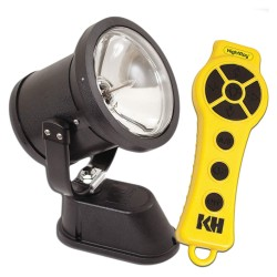 KH Industries - NR4S-1D050-WS - Vehicle Spotlight, Wireless, 50W, 12VDC, 4A