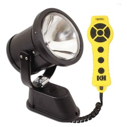KH Industries - NR4S-1H130-WD - Dual Vehicle Spotlight, 130W, 12VDC, 4.2A