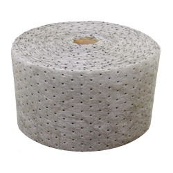 Oil Dri - L70474G - Universal Absorbent Roll, Heavy, Polypropylene, 150 ft., 1EA