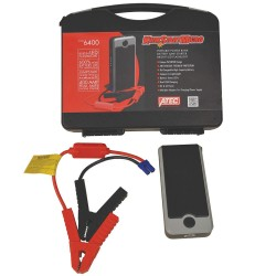 Associated Equipment - KS400 - Handheld Portable 12V Battery Jump Starter, Boosting for AGM, Deep Cycle, Gel, Lead Acid, Lithium, W