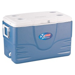 Coleman Company - 6050A748 - 52 qt. Blue Chest Cooler
