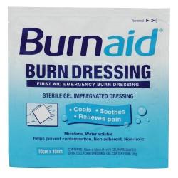 Burnaid / Rye Pharmaceuticals - 30612 - Burn Dressing, Sterile, White, PK10