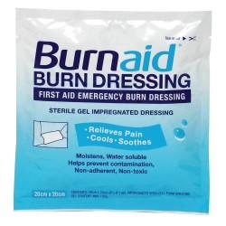Burnaid / Rye Pharmaceuticals - 30670 - Burn Dressing, Sterile, White, PK4