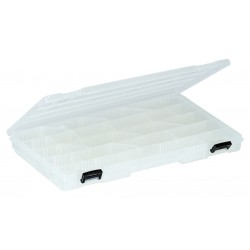 Plano Molding - 3771-00 - Compartment Box, Clear, 1-3/8H x 9-1/8L x 14W, 1EA