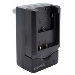 Lenmar - CWNPBG1 - Lenmar Camera Battery Charger for Sony NP-BG1, NP-FG1 - AC Plug