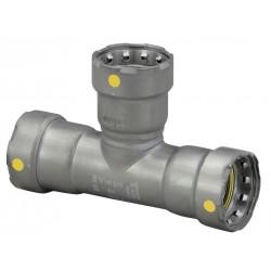 Viega - 25306 - Carbon Steel Tee, Press x Press x Press Connection Type, 3/4 Tube Size