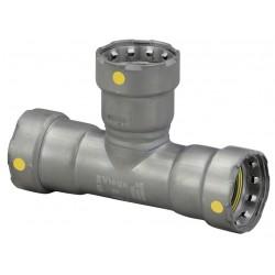 Viega - 25321 - Carbon Steel Tee, Press x Press x Press Connection Type, 1-1/2 Tube Size