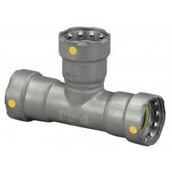 Viega - 25326 - Carbon Steel Tee, Press x Press x Press Connection Type, 2 Tube Size