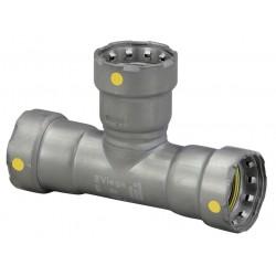 Viega - 25331 - Carbon Steel Tee, Press x Press x Press Connection Type, 3/4 x 3/4 x 1/2 Tube Size