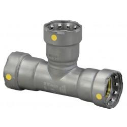Viega - 25336 - Carbon Steel Tee, Press x Press x Press Connection Type, 1 x 1 x 1/2 Tube Size