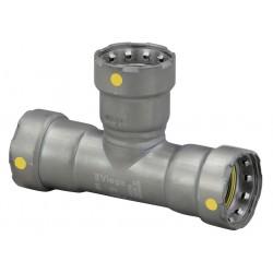 Viega - 25371 - Carbon Steel Tee, Press x Press x Press Connection Type, 1-1/2 x 1-1/2 x 1 Tube Size