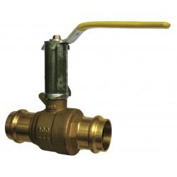 Other - BA-481B - 212 - Brass Press x Press Ball Valve, Memory Stop, 2-1/2 Pipe Size