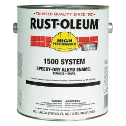 Rust-Oleum - 1545402 - Gloss Yellow Speed Dry Enamel, 1 gal.