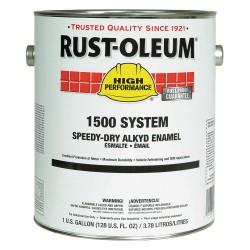 Rust-Oleum - 1545402 - Gloss Yellow Speed Dry Enamel, 1 gal.