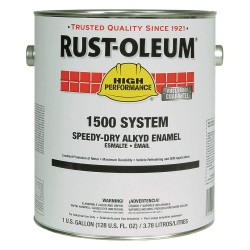Rust-Oleum - 1547402 - Gloss Caterpillar Yellow Speed Dry Enamel, 1 gal.