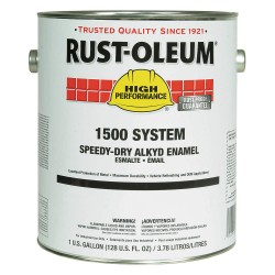 Rust-Oleum - 1579402 - Gloss Black Speed Dry Enamel, 1 gal.