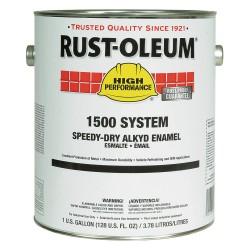 Rust-Oleum - 1579402 - Gloss Black Speed Dry Enamel, 1 gal.