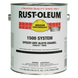Rust-Oleum - 1584402 - Gloss Gray Speed Dry Enamel, 1 gal.