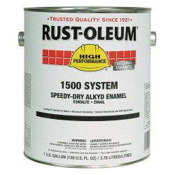Rust-Oleum - 1590402 - Gloss White Speed Dry Enamel, 1 gal.