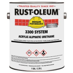 Rust-Oleum - 206879 - White Urethane Activator, 260 to 620 sq. ft./gal Coverage, Size: 1 pt.
